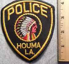 HOUMA LOUISIANA POLICE PATCH (HIGHWAY PATROL, SHERIFF, EMS, STATE)
