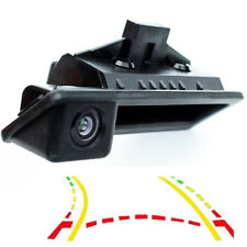 600L Dynamic Trajectory Car Trunk handle Rear View Camera for BMW E60 E61 E70 E7