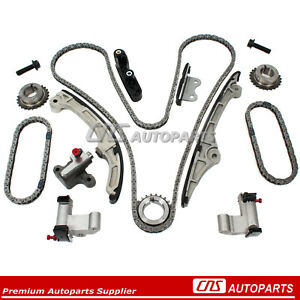 Timing Chain Kit Fits 07-10 Ford Lincoln Edge Taurus MKZ V6-3.5L DOHC DURATEC