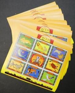 EDW1949SELL : UGANDA 1994 Scott #1266 Disney 20 Sheetlets. VF, Mint NH. Cat $55.