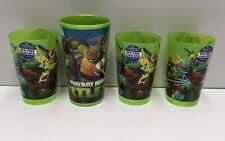 TEENAGE MUTANT NINJA TURTLES KIDS DRINKING CUPS X 4