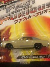 Joyride Studios Fast And Furious 1970 Monte Carlo Rc2 Nib