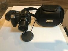 Canon PowerShot S3 IS 6.0MP Digital Camera + case- Black **Repair or parts**