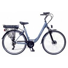 Amigo E-Active - Elektrofahrrad für Damen - E-bike 28 Zoll mit 7-Gang - Grau