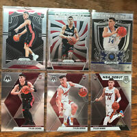 2019-20 Tyler Herro Panini Prizm Base #259 With Mosaic Variation 6 Card Lot Heat