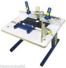 "CHARNWOOD W012 BENCH TOP ROUTER TABLE, FITS ANY 1/4"" ROUTER"