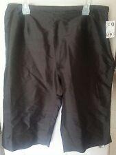 *PRICE CUT!*Rena Rowan* NEW! Dark Brown Silk Capri Pants Plus Size 18W