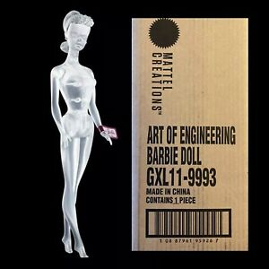 Mattel Creations Barbie Art Of Engineering Doll SEALED IN SHIPPING BOX UNOPENED