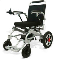 110/220V Portable Folding Mobility Old Elderly Disabled Electric Wheelchair GB