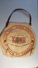 hawaiian burlap coffee sack