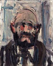 Leopold Häfliger, Portrait Hanns Ernst Jäger, Öl auf Leinwand/Karton, 1967