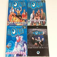 AQUA JOBLOT BUNDLE CASSETTE SINGLES BARBIE GIRL CARTOON TURN BACK DOCTOR JONES