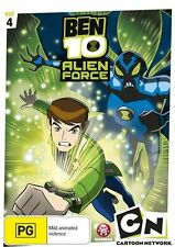Ben 10: Alien Force - Volume 4 NEW R4 DVD