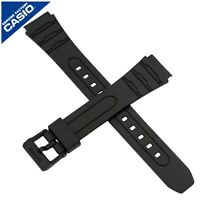 Genuine Casio Watch Strap Band for W-202 W 202 BLACK 10421384