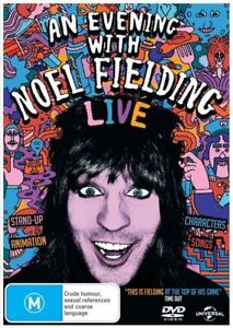 An evening with Noel Fielding DVD (BRAND NEW &SEALED) fast safe ship/tracking