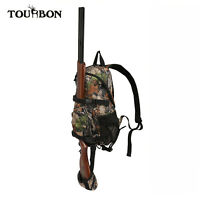 Tourbon Camo Gun Bags Rifle Backpack Tactical Bags Hunting Gun Cover Carry Case