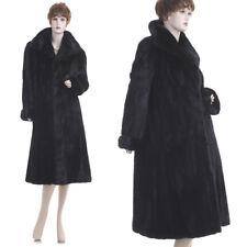 Mint! Fashionable Black Beauty Female Mink Fur A-Line Coat