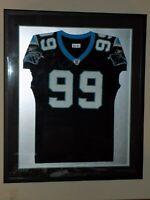 NFL Carolina Panthers Brentson Buckner #99 Game Worn Signed Jersey Pro Framed