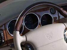 Jaguar XK8 or XKR 1996-2006 Chrome Gauge Trim Dial Rings Polished Alloy New 4pcs