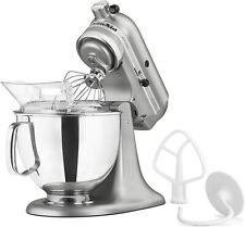 Brand New KitchenAid Artisan Ksm150Pscu Tilt Head 5 Qt. Stand Mixer Silver