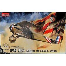 Roden 615 Spad VII C .1 LAFAYETTE & USAAF 1/32 SCALA KIT MODELLINO IN PLASTICA