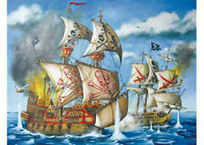 Ravensburger 200 XXL Piece Pirates Battle Jigsaw Puzzle RB12771-9