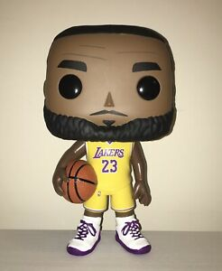 "Funko Pop 10"" Large Lebron James Lakers Figure Walmart Exclusive Loose NO BOX"