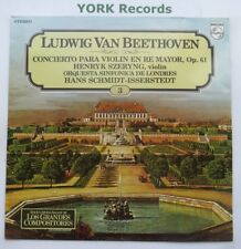 6851 042 - BEETHOVEN - Violin Concerto SZERYNG / ISSERSTEDT LSO - Ex LP Record