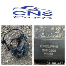 Ford Focus Mk2 1.6 Petrol Coil Pack And Leads DELPHI GN10205