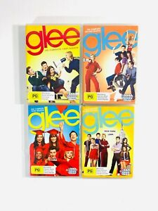 GLEE | Complete Season 1 - 4 | DVD Series Box Set  2 3 | Aus Seller 🇦🇺 R4
