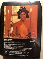 Vintage 8 Track Tape Arlo Guthrie Alice's Restaurant