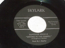 Superior Angels: Crying in the Chapel / There's Been a Change in Me [VG Copy]