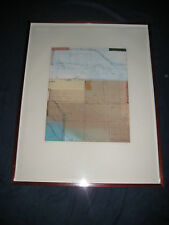 PLEASE HELP IDENTIFY ARTIST - ORIGINAL LIMITED EDITION SIGNED MODERN ABSTRACT