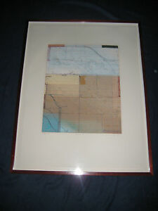 Carta I 1990 by Robert Kelly - Original Limited Edition Signed Abstract Print