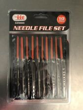 Needle File Set Of 10 Pieces With Soft Carrying Case