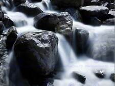 NATURE PHOTO EXPOSURE WATER ROCK POSTER ART PRINT HOME PICTURE BB157B