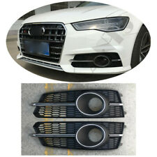 Front Fog/Driving  Lamps Lighting Cover For 2016 Audi A6 C7 Modify