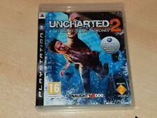 Uncharted 2 Among Thieves PS3 Playstation 3 (Spanish Cover)