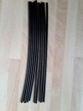 Kunststoffschweissdraht PE-HD 4mm , Schwarz, rund, Restposten 10x200mm