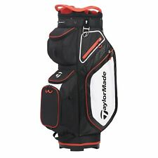 TaylorMade Mens Cart 8.0 Cart Golf Bag 2020 - Navy/White/Red