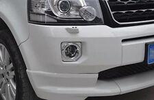 Chrome Front Fog Light Cover Trim for 2013-2015 Land Rover Freelander 2