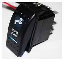 New 5 Pins 12V 20A BLUE LED Water Pump Bar ARB Rocker Toggle Switch Car Boat