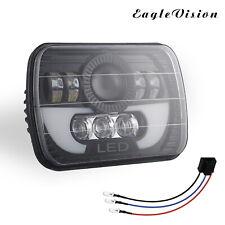 7X6 5x7 300W LED Headlight Hi/Lo Sealed Beam Halo fit for Jeep Wrangler YJ 84-01