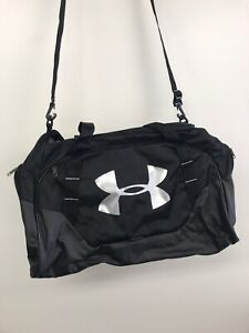 UA UNDENIABLE 3.0 LARGE DUFFLE BAG  BLACK/SILVER, New With Tags.