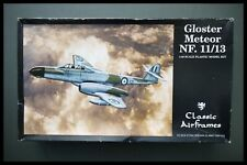 Gloster Meteor NF.11/13 1/48 SCALE CLASSIC AIRFRAME RARE MODEL KIT