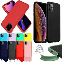 For Apple Silicone Case iPhone 8 Plus Shockproof Rubber Gorilla Protective Cover