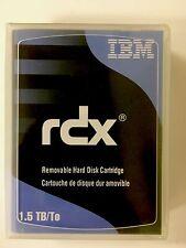 IBM 46C2831 - 1.5TB RDX / RD1000 Hard Drive Cartridge -NEW/FACTORY SEALED