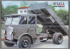 POSTER CAMION SCANIA VABIS 1932  56X42cm