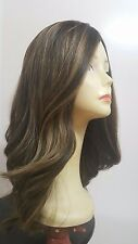"""Malky Wigs Sheitel European Multidirectional straight 5/10 rooted 20"""" Small"""