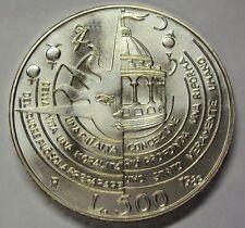 ITALIA REPUBBLICA 1989  500 LIRE CAMPANELLA DA DIVISIONALE ZECCA FDC